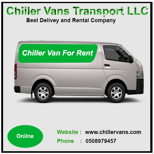 hicae chiller van for rent