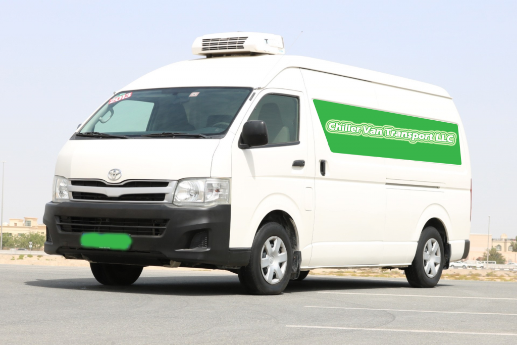 Hiace Chiller Van & Chiller Truck for Rent in Dubai | 0527773063