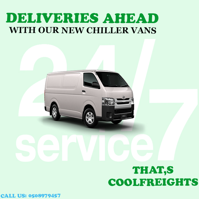 Dubai Chiller Van Rental